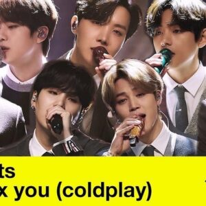 BTS realizará un cover de Coldplay en 'MTV Unplugged'