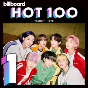 BTS obtiene el #1 en Billboard HOT100, Global 200 y Global 200 Excl. EEUU con Butter